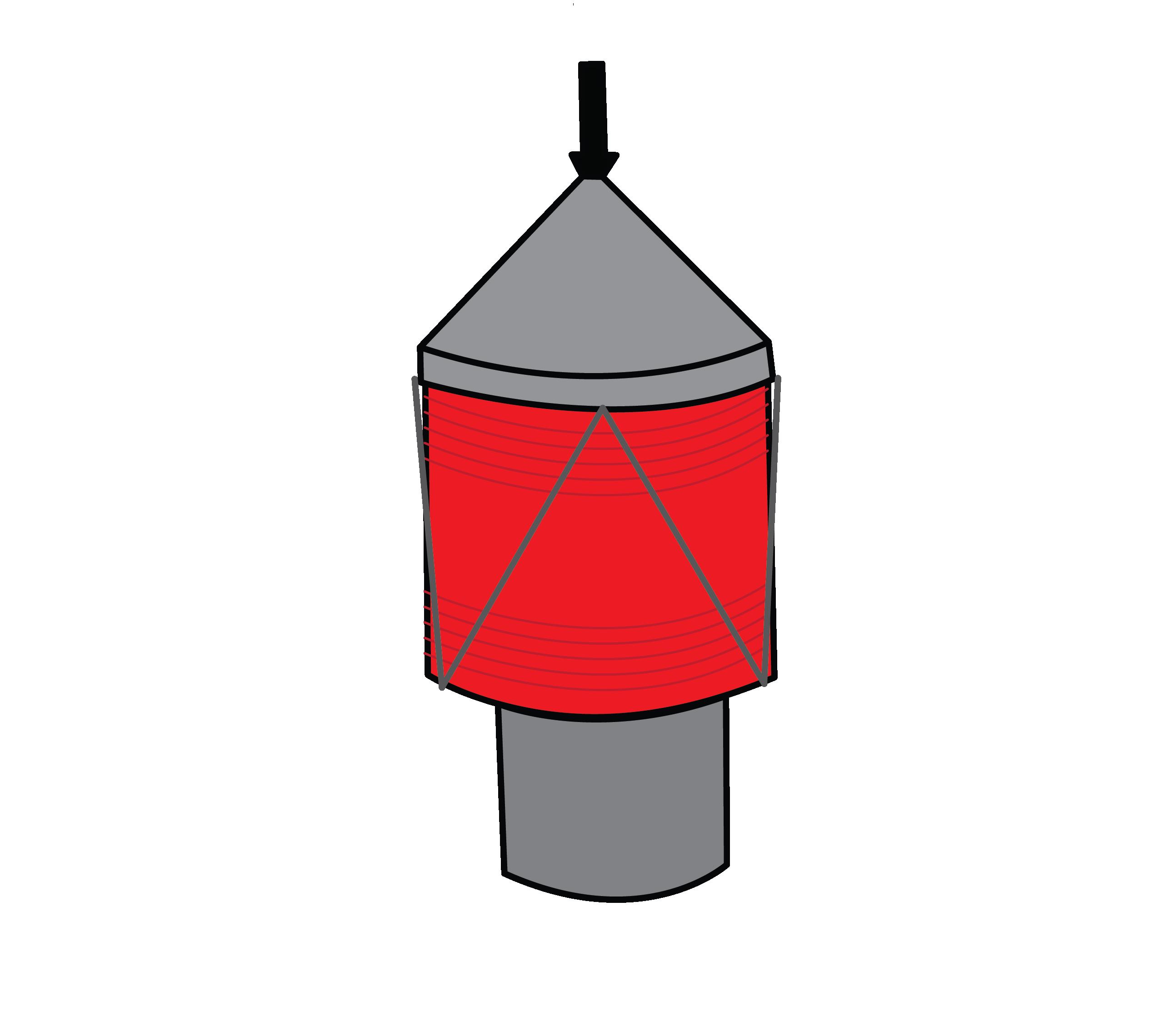 Exemple de lanterne et feux de navigation