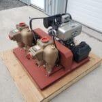 2 pompes + moteur 2